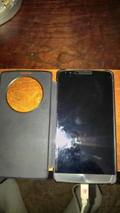 Unlocked LG G4 with case for sale