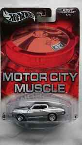 HOT WHEELS MOTOR CITY MUSCLE CHEVY CHEVELLE 1/4