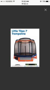 7'Little Tikes Trampoline