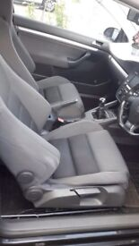 Vw golf mk5 R32 full interior seats seat 04-09 Px wingback leather or cloths Gti gtd gttdi