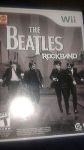 RockBand wii Beatles game new