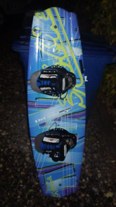 HOBIE PRO 141 WAKE BOARD AND BARE LIFE JACKET