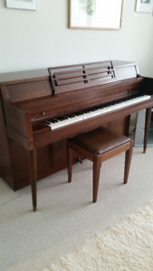 PIANO PRICED FOR IMMEDIATE SALE - $75.