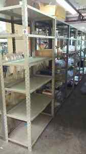 Solid Metal shelving for sale