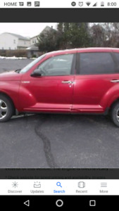 Pt cruiser for sale great running car