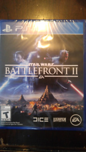 Star Wars Battlefront II for PS4 - Brand New/Sealed