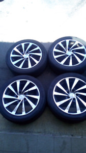 FAST set of Wheels and HANKOOK tires