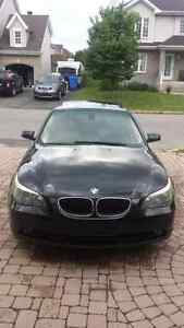 BMW 525I LOW MILEAGE VERY GOOD CONDITION BLACK ON BLACK