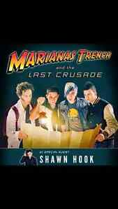 3 VIP Meet and Greet Package Tickets-Marianas Trench,Thunder Bay