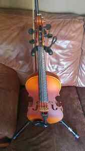 3 violins for sale. Ready to play!