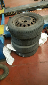 175/65/14 all season tires with rims