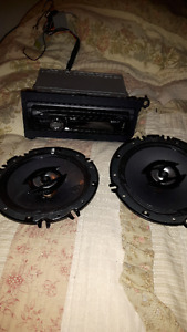Sony Car Stereo with Speakers