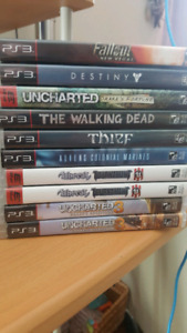 PS3 Games. $5 to $15 each or make a bundle
