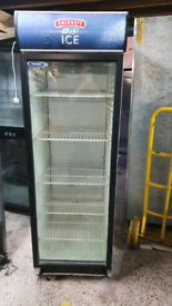 SMIRNOFF commercial upright beer drinks display chiller fully working