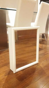 Medicine Cabinet with Mirror - White