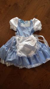 Dorothy costume size 4-6