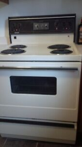 30 inch Admiral Electric Range