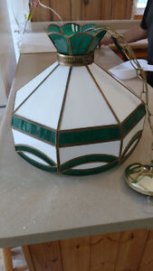 Tiffany stained glass light