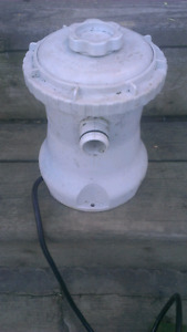 POOL/POND PUMP AND FILTER