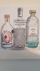 Scottish Gin artwork