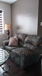 2 Fabric Love Seats - Good Condition