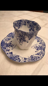 Collection of Shelley Tea Cups and Creme and Sugar London Ontario image 2