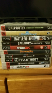 Jeux ps3 Games , Call of duty, Battflefield