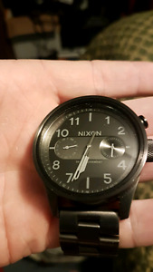 Nixon Safari Deluxe Swissmovent Watch