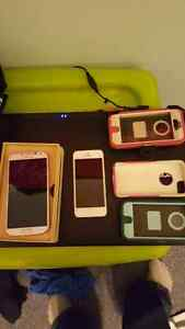(Samsung Galaxy S4 SOLD) and iPhone 5