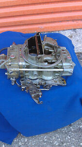 Holley List 9895, 650 CFM, 4-Barrel Spread Bore Carb. (USED)