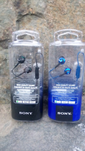 Sony Hands-free headphones (new in package)