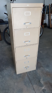 Cole 4-Drawer Legal File Cabinet