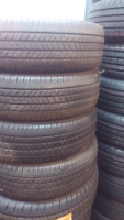 215/70R15 GOODYEAR INTEGRITY USED SET OF TIRE 85%