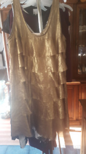 Michael kors bronze dress  / large