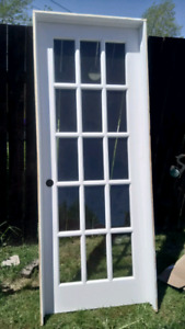 Pre-hung French Door