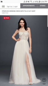 Wedding Dress, Veil & Shoes (PRICE DROP)