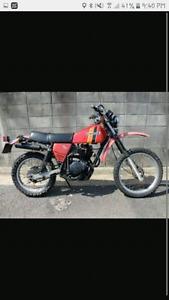 Motorcross semi-trail semi-route pour collectioneur