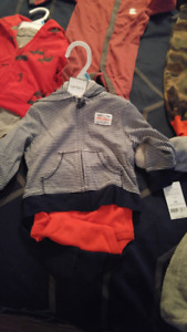 5 brand new baby boy clothes. Tag still on them. Size 6/12 month