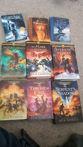 Assorted Rick Riordan book