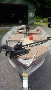 14ft Alluminum fishing boat