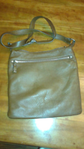 EUC brown leather Danier Leather purse
