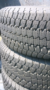 NEW LT275/65/R18 GOODYEAR ALL TERRAIN TIRES