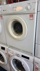 White Knight 6kg vented dryer refurbished with warranty ready to go