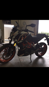 KTM bike for sale low km.