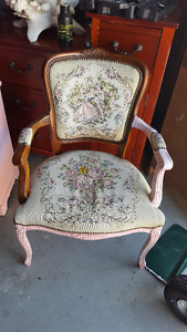 Beautiful Small Antique Victorian French Arm Chair