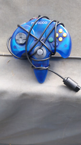 Myiicco N64 controller with memory card