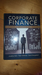 Corporate Finance 3rd Canadian Edition