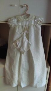 Baptism/Christening gown 3 to 6 months