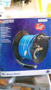 3/8 inch 50 airhose and reel Stratford Kitchener Area image 1