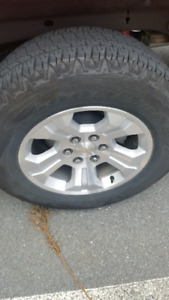 18 ' Chevy rims and tires